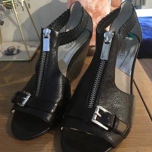 MICHAEL Michael Kors Black Wedge Heel Size 8m